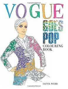 Vogue releases new 60s-inspired coloring book