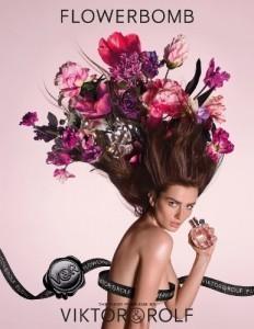 Viktor&Rolf updates 'Flowerbomb' with Andreea Diaconu