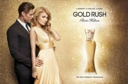 Paris Hilton's new fragrance is called Gold Rush
