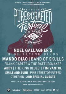 Noel Gallagher to headline Pure & Crafted Festival 2016