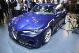 Alfa Romeo is among the marques bringing entirely new cars to this year's LA Auto Show © Newspress