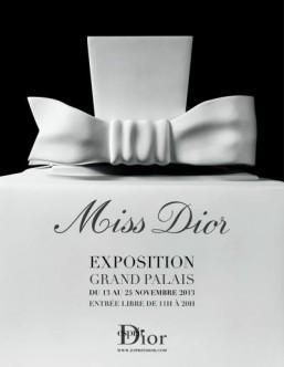 Miss Dior fragrance gets Paris exhibition