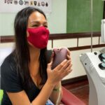 Coronavirus survivor Iza Calzado donates plasma for patients