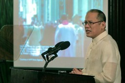 President Aquino appeals for 'Bayanihan' to ensure people's safety during Papal visit