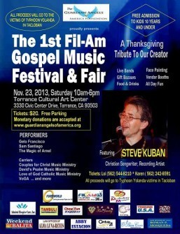 GAAF to hold Gospel Musicfest for victims of Haiyan