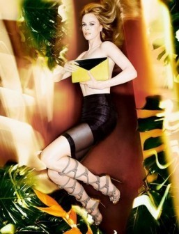 New images of Nicole Kidman for Jimmy Choo