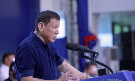 Bong Go wants to be president — PRRD