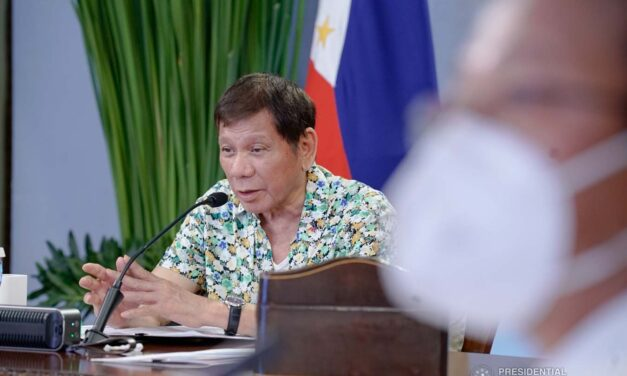 Duterte: Even if I sail to West Philippine Sea, nothing will happen