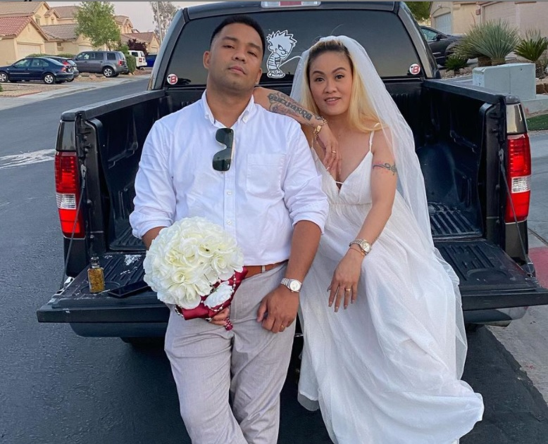 GLADYS GUEVARRA IS NOW MARRIED