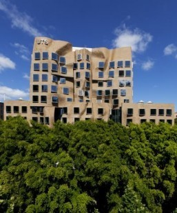 Frank Gehry-designed UTS Dr Chau Chak Wing Building ©Andrew Worssam