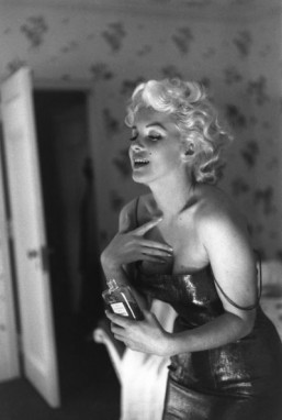 Marilyn Monroe, the new face of Chanel No. 5