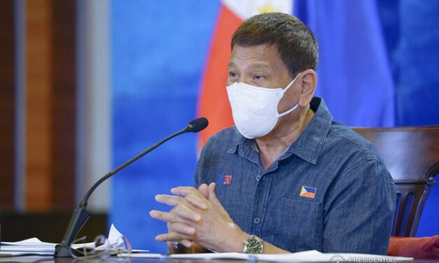 DUTERTE ON FACING ICC: YOU MUST BE CRAZY