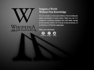 SOPA blackout hits the web: full list of sites taking part