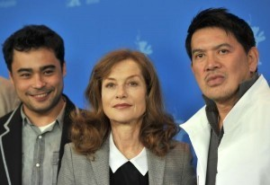 Huppert's Filipino kidnap drama premieres at Berlin fest
