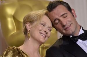 Twitter index: 'The Artist' and Meryl Streep celebrate Oscar success