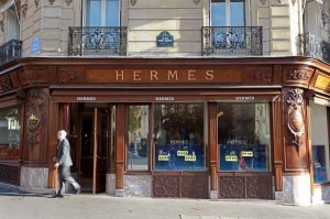 French luxury group Hermes posts record 2011 sales