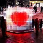 Times Square installs 'big' heart for vow renewals on Valentine's Day