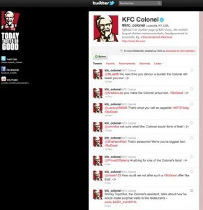 KFC launches Twitter campaign and gives away free chicken