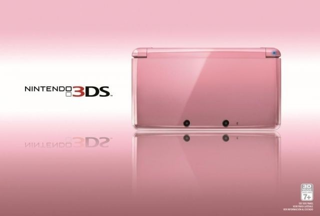 Tech companies cash in on Valentine's Day with pink Nintendo 3DS, Galaxy S II