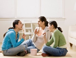 Could bonding with friends over dinner make you fat?