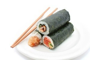 Japanese sushi tradition for good fortune tops Google food search