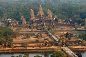 India starts to build Angkor Wat replica