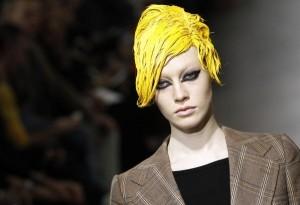 Paris Fashion Week beauty highlights: Color-block hair