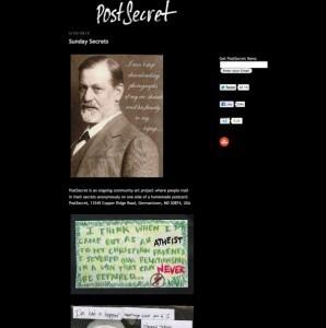 Website lets people shine light on dark secrets