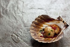 Award-winning Peruvian chef recipe for scallops with lime butter
