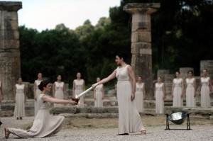 Olympics: Olympic flame lit for London Game