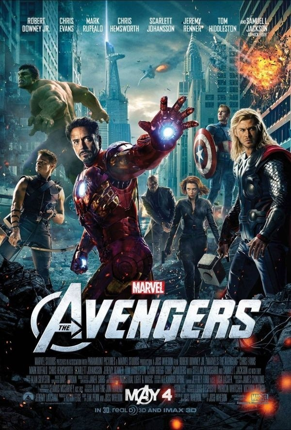'The Avengers' boots 'Harry Potter' as third-biggest box office hit