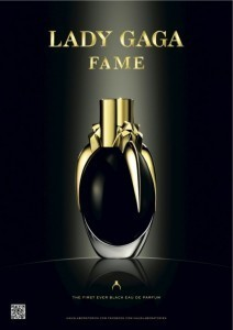 "Lady Gaga debuts her ""Fame"" fragrance"