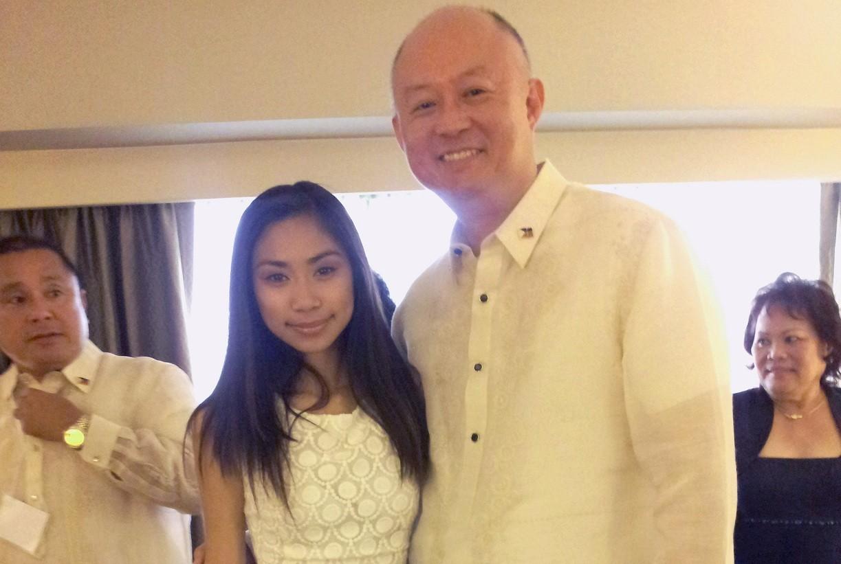 Jessica Sanchez finally meets Aquino in LA