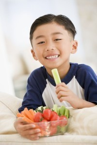 Eat your veggies if you want your kids to eat theirs: study