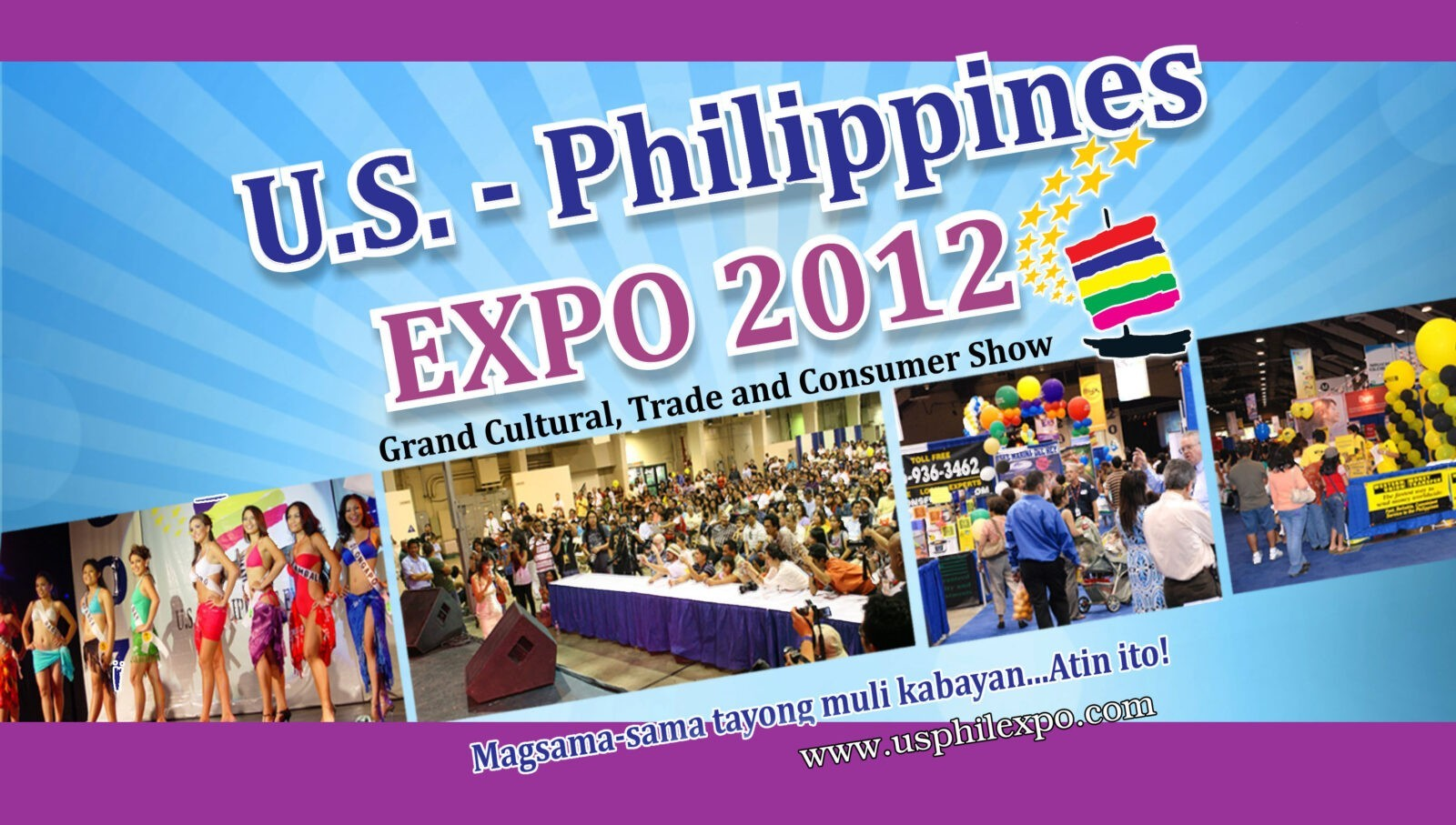 """(August 4-5) US-Philippines Expo 2012 is set to be the """"best ever"""""""