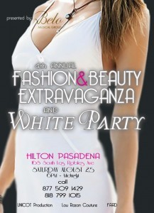 (Aug. 25) Top-Notch White Party & Fashion Show Connects the East With The West