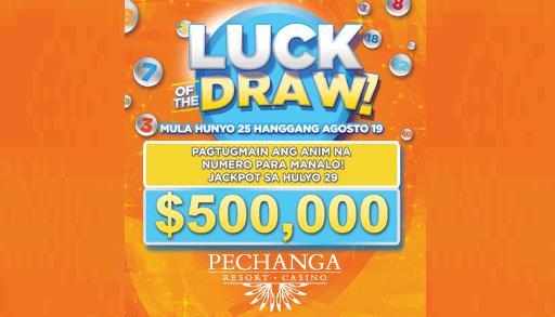 """Manalo ng $5 milyon sa """"Luck of the Draw"""" mula sa Pechanga Resort and Casino"""