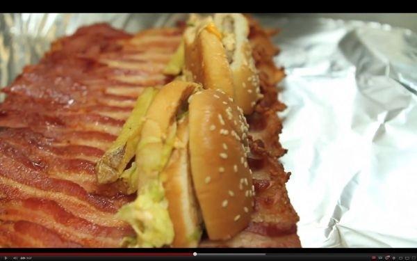 Most popular food-related videos this week: deep-fried burgers