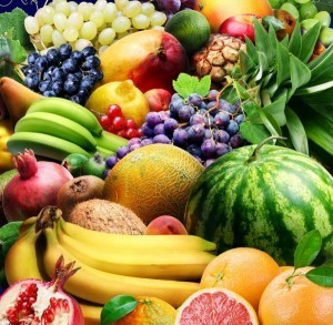 Overindulging in fruits and vegetables could lead to weight gain