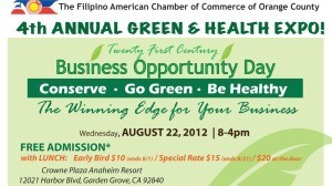 Aug 22: 4th Annual Green & Health Expo!