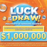 $1 milyong jackpot ngayong linggo!