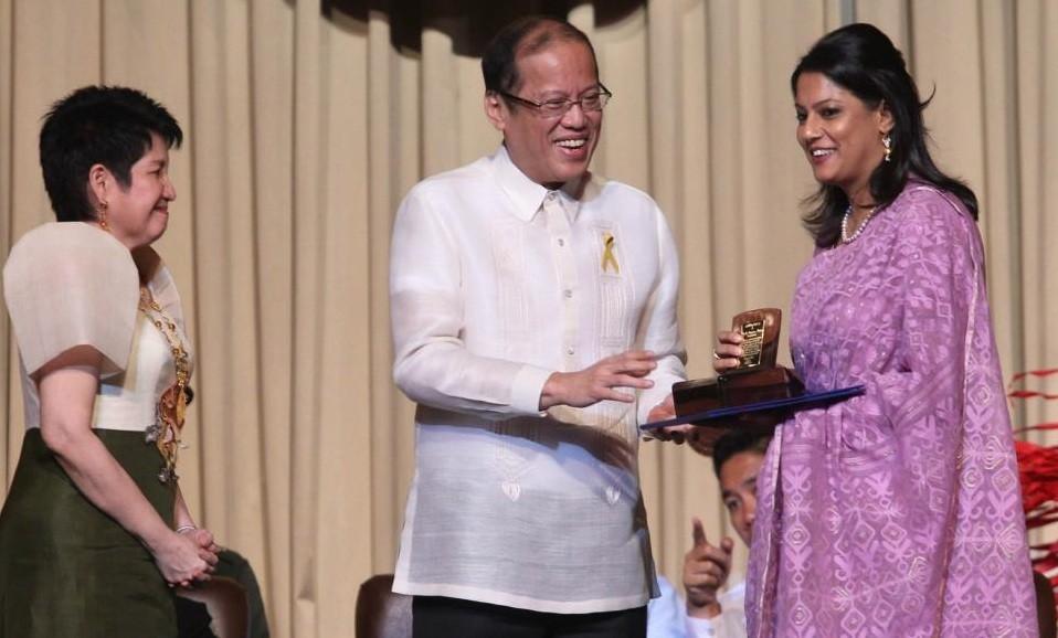 Aquino attends 2012 Ramon Magsaysay awarding ceremony