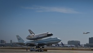 US space shuttle lands in LA after final flight