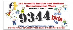 Aquino declares 4th week of October as Juvenile Justice and Welfare Consciousness Week