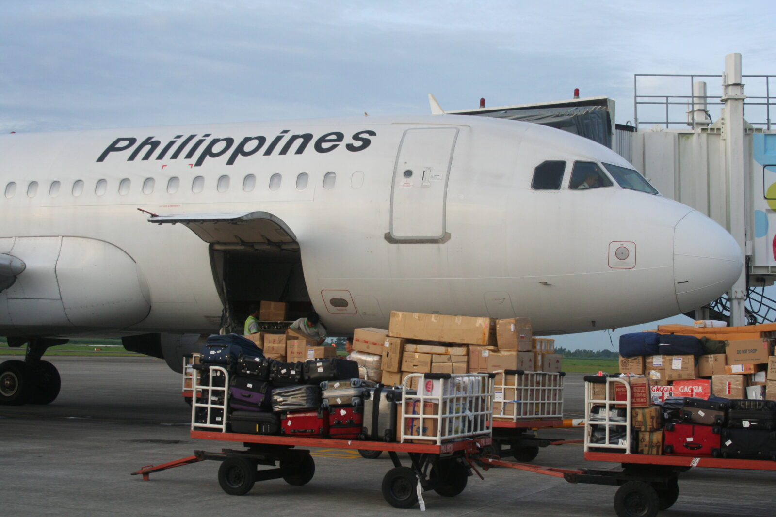 PAL, Airphil new terminal assignments