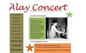 PACAS and PAFC to Stage 7th Alay Concert for Typhoon Victims