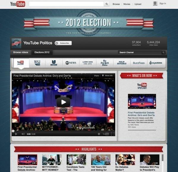 YouTube, Xbox to stream US presidential debates
