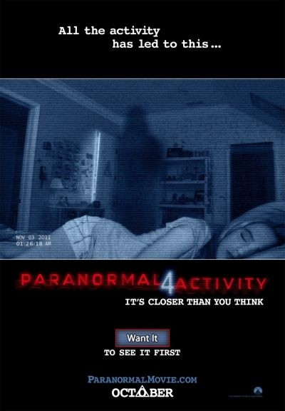 'Paranormal Activity 4' takes global box office by storm