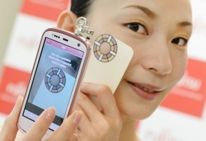 Japan mobile phone will monitor skin condition