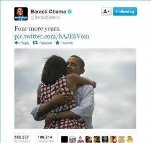 Obama victory tweet the most retweeted ever